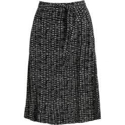 Spódniczki trapezowe: Whistles AVIE SAHARA PRINT WRAP SKIRT Spódnica z zakładką black/white