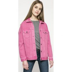 Vero Moda - Kurtka. Różowe kurtki damskie Vero Moda, s, z bawełny. W wyprzedaży za 129,90 zł.