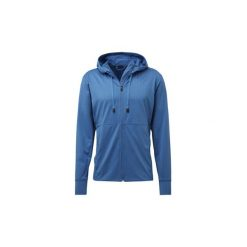 Bluzy dresowe adidas  Bluza treningowa z kapturem Textured. Niebieskie bluzy dresowe męskie marki Adidas, m. Za 399,00 zł.