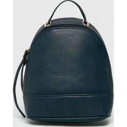 Answear - Plecak. Szare plecaki damskie ANSWEAR, ze skóry ekologicznej. W wyprzedaży za 69,90 zł.