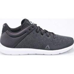 Reebok - Buty STUDIO BASICS. Szare buty do fitnessu damskie Reebok, z materiału. W wyprzedaży za 179,90 zł.