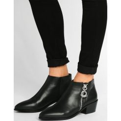 Botki damskie lity: Senso LEE Ankle boot calf ebony