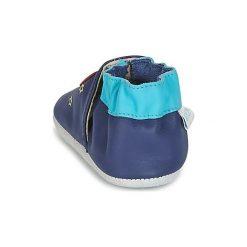 Kapcie niemowlęce Dziecko  Robeez  SKY DISCOVERY. Niebieskie kapcie chłopięce marki Robeez. Za 104,30 zł.