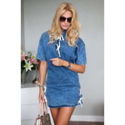 Tuniki damskie: Tunika jeansowa