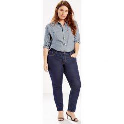 Modelujące dżinsy 311 Shaping Skinny Levi's PLUS. Brązowe jeansy damskie skinny marki Levi's®, z obniżonym stanem. Za 499,80 zł.
