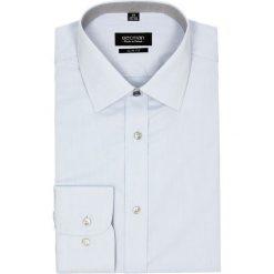 Koszula bexley 2551 długi rękaw slim fit niebieski. Niebieskie koszule męskie slim Recman, m, z długim rękawem. Za 139,00 zł.