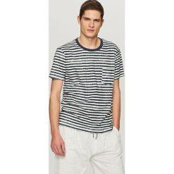 Dwuczęściowa piżama - Jasny szar. Szare piżamy męskie marki Lauren Ralph Lauren, l, z bawełny. Za 79,99 zł.