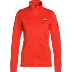 The North Face KYOSHI Bluza rozpinana fire brick red. Czerwone bluzy rozpinane damskie marki The North Face, m, z elastanu. W wyprzedaży za 359,10 zł.