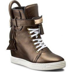 Sneakersy R.POLAŃSKI - 0832 Stare Złoto. Żółte sneakersy damskie R.Polański, z gumy. W wyprzedaży za 329,00 zł.
