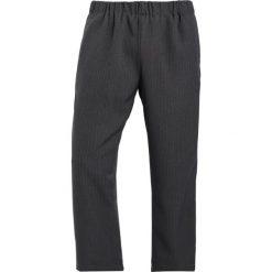 Chinosy męskie: 12 Midnight DROP CROTCH Spodnie materiałowe black