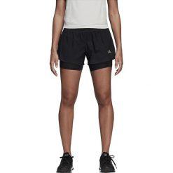Spodenki ADIDAS M10 SHORT W BLACK / CY571. Szare szorty damskie marki Adidas, l, z dresówki, na jogę i pilates. Za 129,00 zł.