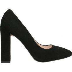 Czółenka MELANIA. Szare buty ślubne damskie marki Gino Rossi, z gumy. Za 299,90 zł.