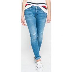 Tommy Hilfiger - Jeansy Venice Rw. Niebieskie jeansy damskie marki House, z jeansu. W wyprzedaży za 379,90 zł.