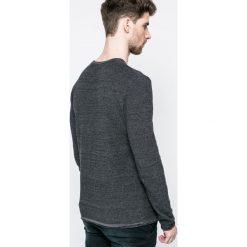 Blend - Sweter. Brązowe swetry klasyczne męskie marki Blend, l, z bawełny, bez kaptura. W wyprzedaży za 59,90 zł.