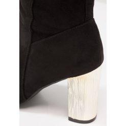 Dorothy Perkins KERRI Kozaki black. Czarne kowbojki damskie Dorothy Perkins, z materiału. W wyprzedaży za 191,40 zł.