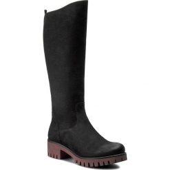 Kozaki KARINO - 1917/003-F Czarny. Fioletowe buty zimowe damskie marki Karino, ze skóry. W wyprzedaży za 319,00 zł.