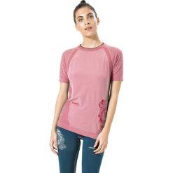 Koszulka funkcyjna w kolorze jasnoróżowym. Czerwone bluzki sportowe damskie Desigual Sport, s, z materiału. W wyprzedaży za 121,95 zł.