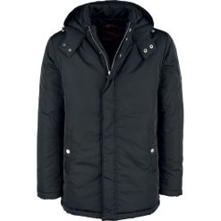 Shine Original San Francisco - Puffer Jacket Kurtka zimowa czarny. Czarne kurtki męskie zimowe Shine Original, l, z aplikacjami. Za 244,90 zł.