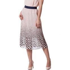 Spódniczki: Spódnica w kolorze pudrowo-granatowym