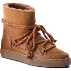 Buty INUIKII - Sneaker Classic 70202-5 Deer. Brązowe buty zimowe damskie Inuikii, ze skóry, na niskim obcasie. Za 1049,00 zł.