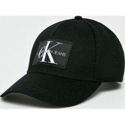 Calvin Klein Jeans - Czapka. Czarne czapki z daszkiem męskie Calvin Klein Jeans. Za 139,90 zł.