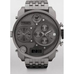 Diesel - Zegarek DZ7247. Czarne zegarki męskie marki Fossil, szklane. Za 1599,00 zł.