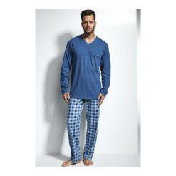 Piżama William 122/117. Niebieskie piżamy męskie marki Cornette. Za 113,90 zł.