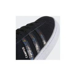 Trampki Dziecko  adidas  Buty Campus. Czarne trampki chłopięce marki Adidas, z materiału. Za 134,50 zł.