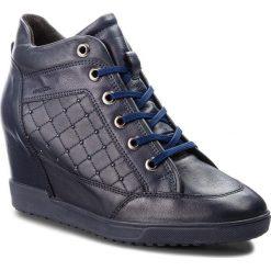 Sneakersy GEOX - D Carum C D84ASC 08554 C4002 Navy. Niebieskie sneakersy damskie Geox, z materiału. W wyprzedaży za 419,00 zł.