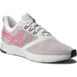 Buty NIKE - Zoom Strike AJ0188 101 Summit White/Pink Blast. Szare buty do biegania damskie marki Nike, z materiału, nike zoom. W wyprzedaży za 259,00 zł.
