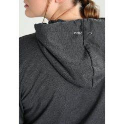 Bluzy rozpinane damskie: Only Play ONPLINA CURVY Bluza rozpinana dark grey melange