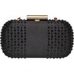 MAŁA IMPREZOWA TOREBKA. Czarne torebki klasyczne damskie Top Secret, małe. Za 129,99 zł.