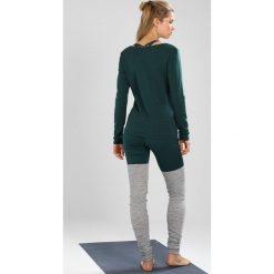Bluzki damskie: super.natural MOTION WRAP OVER Bluzka z długim rękawem ponderosa pine