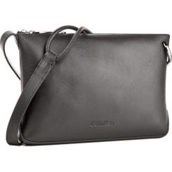 Listonoszki damskie: Torebka CALVIN KLEIN BLACK LABEL - Statement Crossbody K60K603791 001
