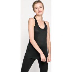 Nike - Top. Czarne topy damskie marki Nike, xs, z bawełny. W wyprzedaży za 69,90 zł.