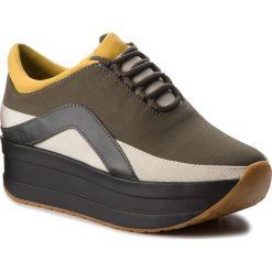 Sneakersy VAGABOND - Casey 4622-180-51 Olive/Multi. Zielone sneakersy damskie Vagabond, z materiału. Za 419,00 zł.