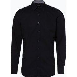 Olymp Level Five - Koszula męska łatwa w prasowaniu, czarny. Czarne koszule męskie non-iron marki OLYMP Level Five, m, z klasycznym kołnierzykiem. Za 249,95 zł.