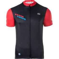 IQ Koszulka Rowerowa męska SORE BLACK/FIERY RED/PALACE BLUE r. XL. Szare koszulki sportowe męskie marki IQ, l. Za 87,36 zł.
