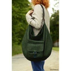 Torebki klasyczne damskie: Hobo Pocket Green