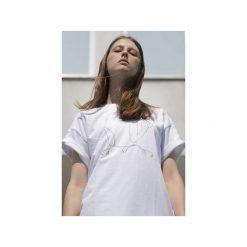 NO SHAME WHITE T-SHIRT. Zielone t-shirty męskie marki Soleil, na co dzień, xs, z dekoltem w łódkę, dopasowane. Za 71,92 zł.