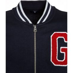 Swetry chłopięce: GANT VARSITY JACKET Kardigan evening blue