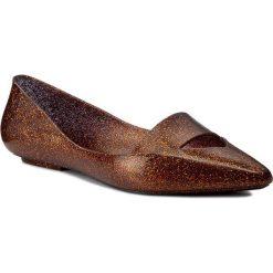 Baleriny MELISSA - Maisie Ad 31993 Glitter Gold 52973. Szare meliski damskie marki Melissa, z gumy. W wyprzedaży za 189,00 zł.
