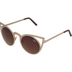 Okulary przeciwsłoneczne damskie: Quay INVADER Okulary przeciwsłoneczne goldfarben