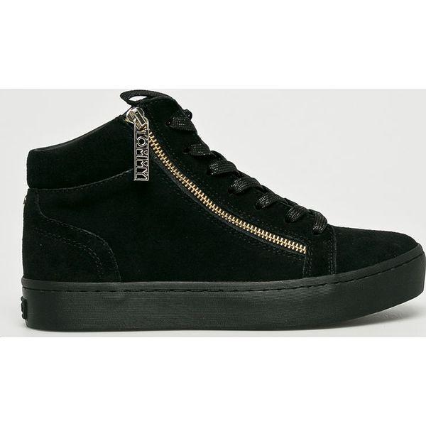 8b1db69f89681 Tommy Hilfiger - Buty - Czarne buty sportowe damskie TOMMY HILFIGER, bez  wzorów, ze skóry, sportowe. W wyprzedaży za 439,90 zł.