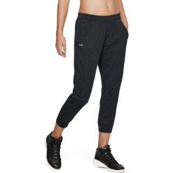 Spodnie sportowe damskie: Under Armour Spodnie damskie TB Balance Mesh Loose Crop czarne r. XS (1305469-001)