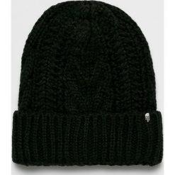 The North Face - Czapka. Czarne czapki zimowe damskie marki The North Face, z dzianiny. W wyprzedaży za 99,90 zł.