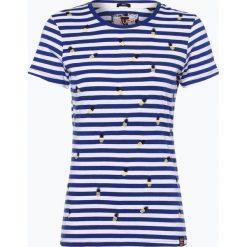 Superdry - T-shirt damski, niebieski. Niebieskie t-shirty damskie Superdry, l, z haftami. Za 179,95 zł.