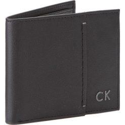 Portfele męskie: Duży Portfel Męski CALVIN KLEIN BLACK LABEL – Newton Slimfold 8Cc K50K503164 001
