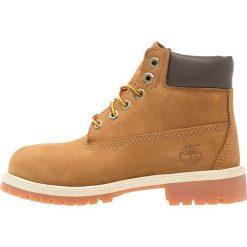 Timberland 6 INCH PREMIUM  Botki sznurowane rust. Brązowe buty zimowe damskie marki Timberland, z gumy, na sznurówki. Za 469,00 zł.