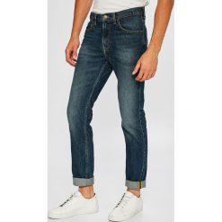 Lee - Jeansy Rider. Niebieskie jeansy męskie slim Lee, z bawełny. Za 329,90 zł.